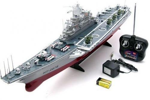 Как сделать радиоуправляемый корабль своими руками